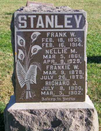 STANLEY, FRANK W. - Lincoln County, South Dakota | FRANK W. STANLEY - South Dakota Gravestone Photos