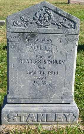 STANLEY, JULIA - Lincoln County, South Dakota   JULIA STANLEY - South Dakota Gravestone Photos
