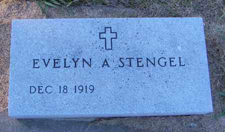 STENGEL, EVELYN A. - Lincoln County, South Dakota | EVELYN A. STENGEL - South Dakota Gravestone Photos