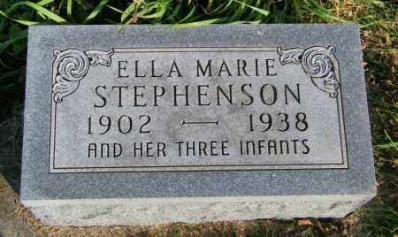 STEPHENSON, ELLA MARIE - Lincoln County, South Dakota   ELLA MARIE STEPHENSON - South Dakota Gravestone Photos