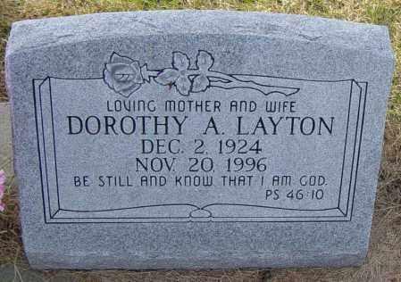 VAN BOCKERN STEWART-LAYTON, DOROTHY A - Lincoln County, South Dakota | DOROTHY A VAN BOCKERN STEWART-LAYTON - South Dakota Gravestone Photos