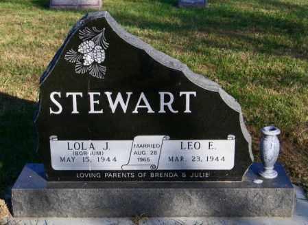 STEWART, LOLA J. - Lincoln County, South Dakota | LOLA J. STEWART - South Dakota Gravestone Photos