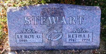 STEWART, LEROY G. - Lincoln County, South Dakota   LEROY G. STEWART - South Dakota Gravestone Photos