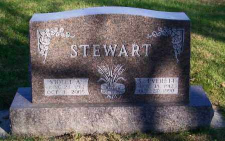 STEWART, S. EVERETT - Lincoln County, South Dakota | S. EVERETT STEWART - South Dakota Gravestone Photos