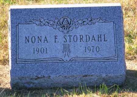 STORDAHL, NONA F. - Lincoln County, South Dakota | NONA F. STORDAHL - South Dakota Gravestone Photos