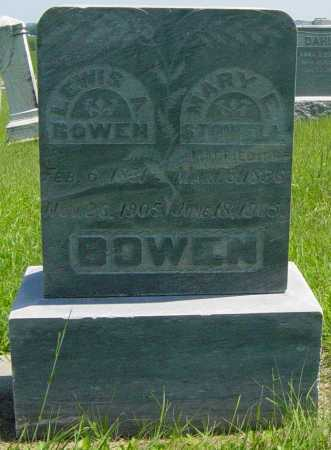 BOWEN, LEWIS A - Lincoln County, South Dakota | LEWIS A BOWEN - South Dakota Gravestone Photos