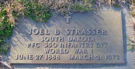 STRASSER, JOEL B. - Lincoln County, South Dakota   JOEL B. STRASSER - South Dakota Gravestone Photos