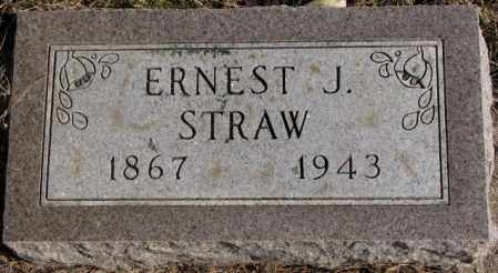 STRAW, ERNEST J. - Lincoln County, South Dakota | ERNEST J. STRAW - South Dakota Gravestone Photos