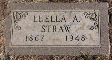 STRAW, LUELLA A. - Lincoln County, South Dakota | LUELLA A. STRAW - South Dakota Gravestone Photos