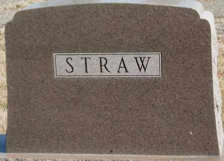 STRAW, PLOT - Lincoln County, South Dakota | PLOT STRAW - South Dakota Gravestone Photos