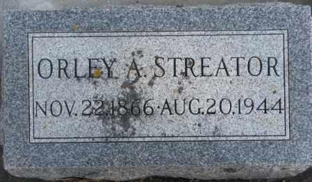 STREATOR, ORLEY A. - Lincoln County, South Dakota | ORLEY A. STREATOR - South Dakota Gravestone Photos