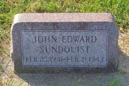 SUNDQUIST, JOHN EDWARD - Lincoln County, South Dakota   JOHN EDWARD SUNDQUIST - South Dakota Gravestone Photos