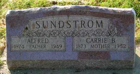 SUNDSTROM, ALFRED - Lincoln County, South Dakota | ALFRED SUNDSTROM - South Dakota Gravestone Photos