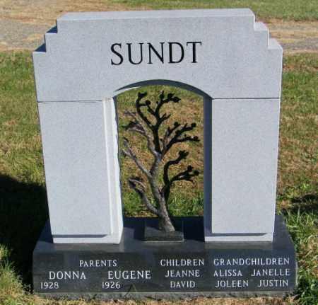 SUNDT, DONNA - Lincoln County, South Dakota | DONNA SUNDT - South Dakota Gravestone Photos