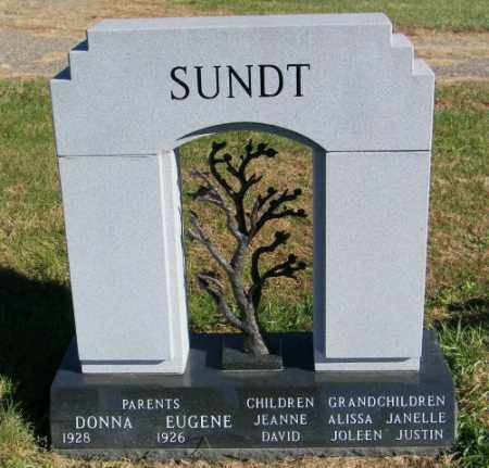 SUNDT, EUGENE - Lincoln County, South Dakota | EUGENE SUNDT - South Dakota Gravestone Photos