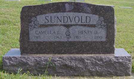 SUNDVOLD, CAMELLA C - Lincoln County, South Dakota   CAMELLA C SUNDVOLD - South Dakota Gravestone Photos