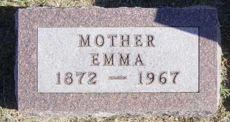 SUNDVOLD, EMMA - Lincoln County, South Dakota | EMMA SUNDVOLD - South Dakota Gravestone Photos