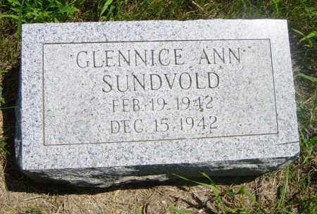 SUNDVOLD, GLENNICE ANN - Lincoln County, South Dakota | GLENNICE ANN SUNDVOLD - South Dakota Gravestone Photos
