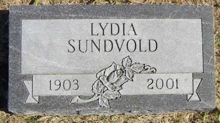 SUNDVOLD, LYDIA - Lincoln County, South Dakota | LYDIA SUNDVOLD - South Dakota Gravestone Photos