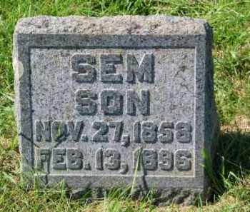 SUNDVOLD, SEM - Lincoln County, South Dakota   SEM SUNDVOLD - South Dakota Gravestone Photos