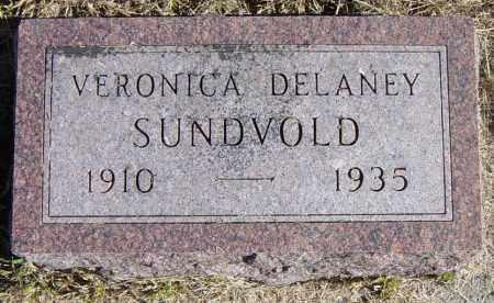 DELANEY SUNDVOLD, VERONICE - Lincoln County, South Dakota | VERONICE DELANEY SUNDVOLD - South Dakota Gravestone Photos