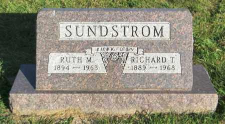 SUNSTROM, RICHARD T. - Lincoln County, South Dakota | RICHARD T. SUNSTROM - South Dakota Gravestone Photos