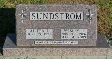 SUNSTROM, WESLEY J. - Lincoln County, South Dakota | WESLEY J. SUNSTROM - South Dakota Gravestone Photos