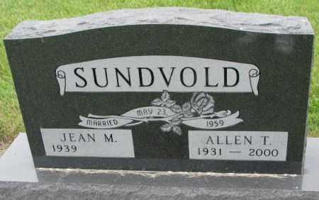 SUNDVOLD, JEAN M. - Lincoln County, South Dakota | JEAN M. SUNDVOLD - South Dakota Gravestone Photos