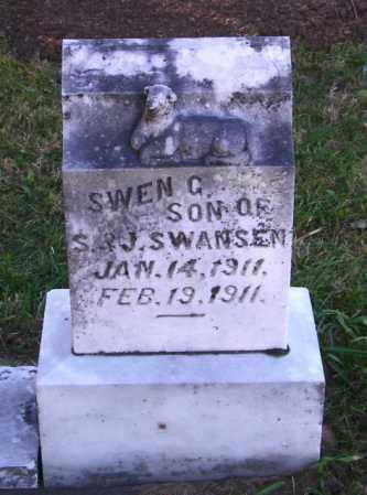 SWANSEN, SWEN G. - Lincoln County, South Dakota   SWEN G. SWANSEN - South Dakota Gravestone Photos