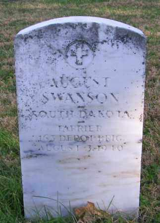SWANSON, AUGUST - Lincoln County, South Dakota | AUGUST SWANSON - South Dakota Gravestone Photos