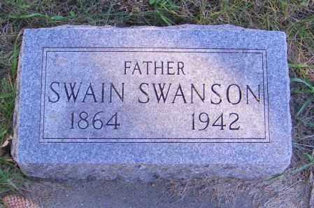 SWANSON, SWAIN - Lincoln County, South Dakota | SWAIN SWANSON - South Dakota Gravestone Photos