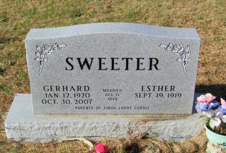 SWEETER, ESTHER - Lincoln County, South Dakota | ESTHER SWEETER - South Dakota Gravestone Photos