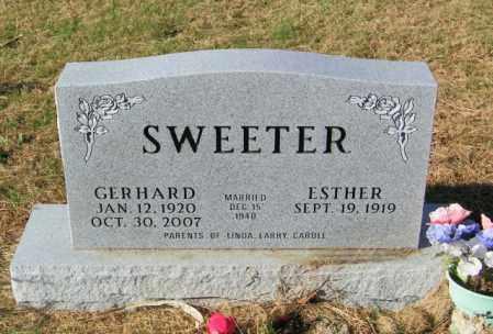 SWEETER, GERHARD - Lincoln County, South Dakota | GERHARD SWEETER - South Dakota Gravestone Photos