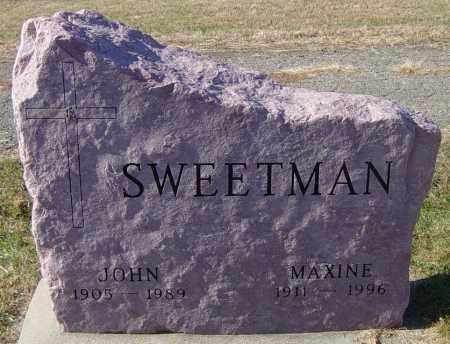 SWEETMAN, MAXINE - Lincoln County, South Dakota | MAXINE SWEETMAN - South Dakota Gravestone Photos