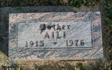 SWENSON, AILI - Lincoln County, South Dakota | AILI SWENSON - South Dakota Gravestone Photos