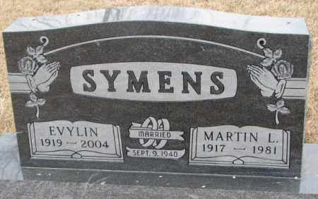 SYMENS, EVYLIN - Lincoln County, South Dakota | EVYLIN SYMENS - South Dakota Gravestone Photos