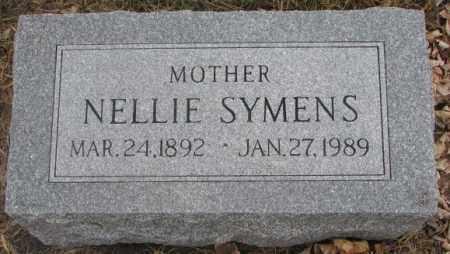 SYMENS, NELLIE - Lincoln County, South Dakota | NELLIE SYMENS - South Dakota Gravestone Photos