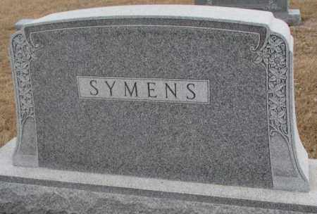 SYMENS, FAMILY MONUMENT - Lincoln County, South Dakota | FAMILY MONUMENT SYMENS - South Dakota Gravestone Photos