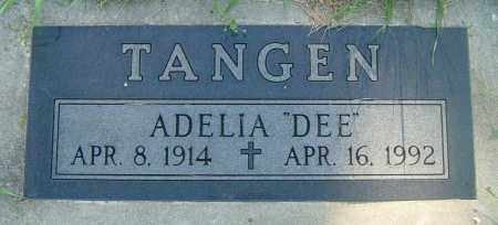 "TANGEN, ADELIA ""DEE"" - Lincoln County, South Dakota 