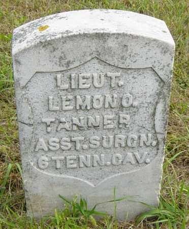 TANNER MILITARY, LIEUT LEMON O - Lincoln County, South Dakota | LIEUT LEMON O TANNER MILITARY - South Dakota Gravestone Photos