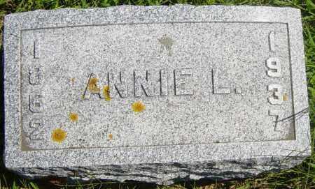 TATE, ANNIE L - Lincoln County, South Dakota | ANNIE L TATE - South Dakota Gravestone Photos