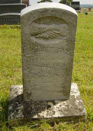 TATE, ARTHUR F - Lincoln County, South Dakota | ARTHUR F TATE - South Dakota Gravestone Photos
