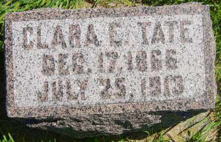 TATE, CLARA E - Lincoln County, South Dakota | CLARA E TATE - South Dakota Gravestone Photos