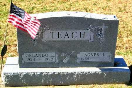 TEACH, ORLANDO E - Lincoln County, South Dakota | ORLANDO E TEACH - South Dakota Gravestone Photos