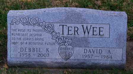 TER WEE, DAVID A. - Lincoln County, South Dakota   DAVID A. TER WEE - South Dakota Gravestone Photos