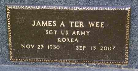 TER WEE, JAMES A. - Lincoln County, South Dakota | JAMES A. TER WEE - South Dakota Gravestone Photos