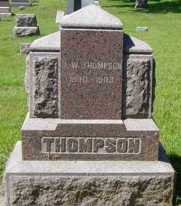 THOMPSON, J W - Lincoln County, South Dakota   J W THOMPSON - South Dakota Gravestone Photos