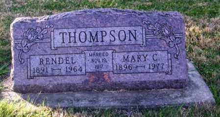 THOMPSON, RENDEL - Lincoln County, South Dakota | RENDEL THOMPSON - South Dakota Gravestone Photos