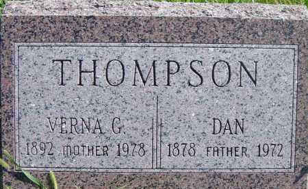 THOMPSON, VERNA G - Lincoln County, South Dakota | VERNA G THOMPSON - South Dakota Gravestone Photos