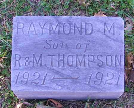 THOMSON, RAYMOND M. - Lincoln County, South Dakota   RAYMOND M. THOMSON - South Dakota Gravestone Photos